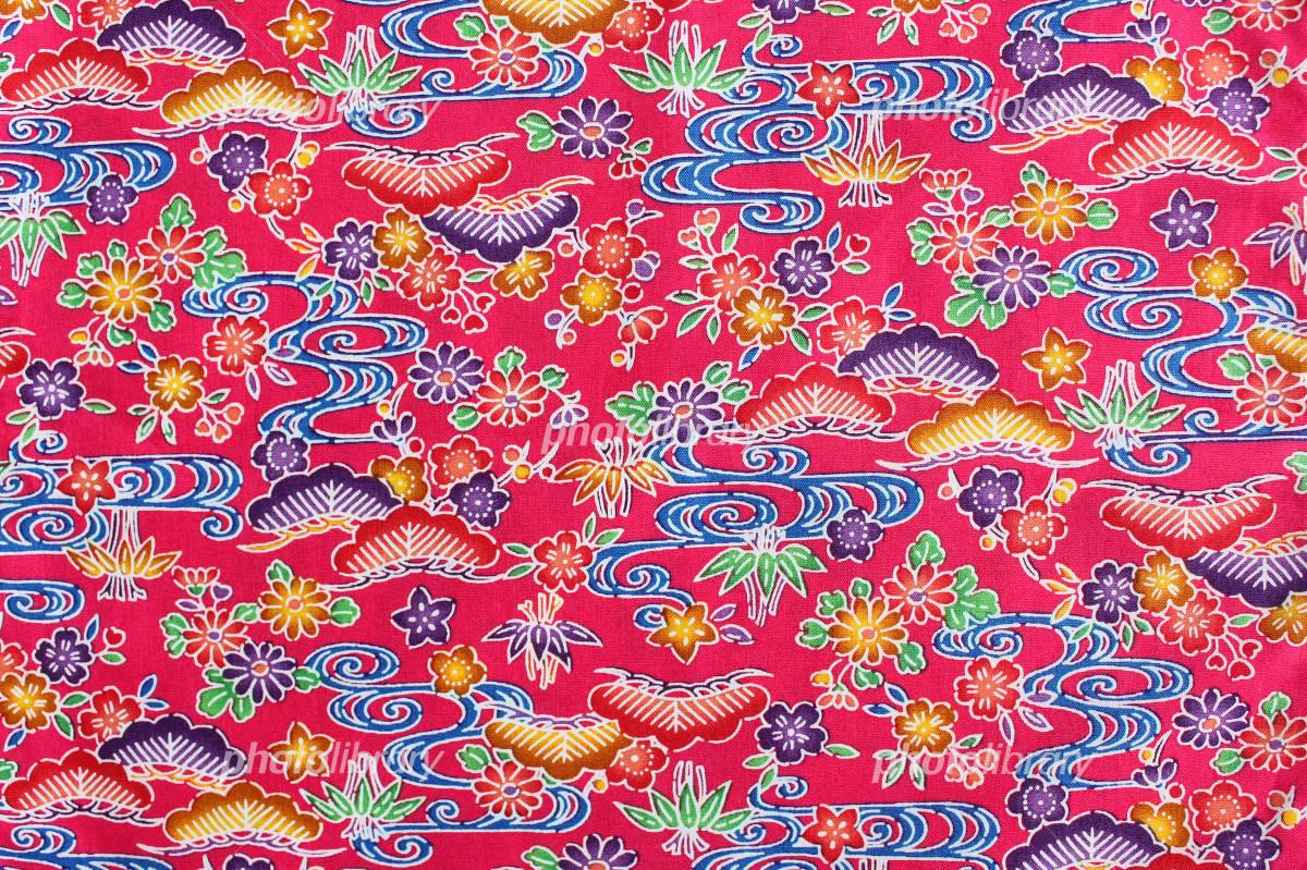 Okinawa pattern Bingata Pink Photo