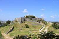 Katsuren Castle, panoramic view Stock photo [2625681] Katsuren