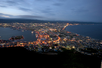 Night view of Hakodate Stock photo [2627279] Hakodate