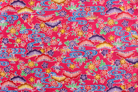 Okinawa pattern Bingata Pink Stock photo [2630010] Bingata