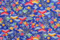 Okinawa pattern Bingata blue Stock photo [2630018] Okinawa