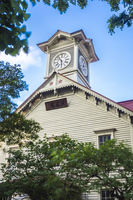 Sapporo clock tower Stock photo [2634073] Hokkaido