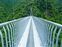 Aya Teruha large suspension bridge Stock photo [2714228] Teruha-dai