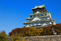 Osaka Castle castle tower Stock photo [2717278] Osaka