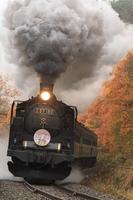 Ban'etsu West Line of steam locomotive Stock photo [2720648] Steam