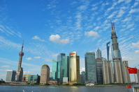 Shanghai skyscrapers Stock photo [2721662] China