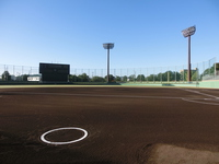 Pre-game baseball field Stock photo [2795925] Stadium