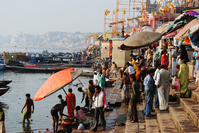 Ghat of India Ganges River Stock photo [2798173] India