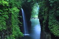 Waterfall of Miyazaki Prefecture Takachiho Gorge Mana well Stock photo [2799203] Takachiho