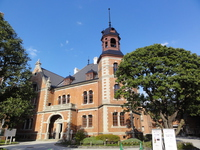 Doshisha Clark Hall stock photo