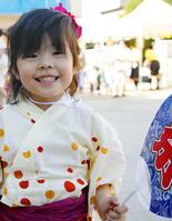 Yukata girls Stock photo [2801883] Kids
