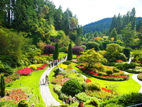 Butchart Gardens Stock photo [2802539] Kanata
