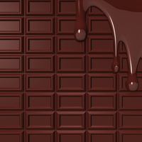 Chocolate background material that is melted [2884824] Melting
