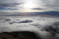 Sea of clouds as seen from Kurikoma Stock photo [2885077] Clouds