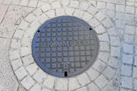 The manhole Stock photo [2890519] Okamoto