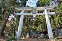 宝登山神社奥宮の鳥居