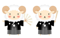 Hakama sheep [2890968] Sheep