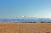 Merry to winter of Hakusan Christmas Stock photo [2891445] White
