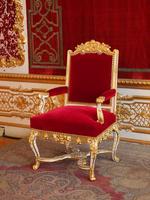 Throne of Germany Munich Residenz Bavaria King Stock photo [2891925] Throne