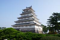 Nagasaki Prefecture Shimabara Castle Stock photo [2892306] Shimabara