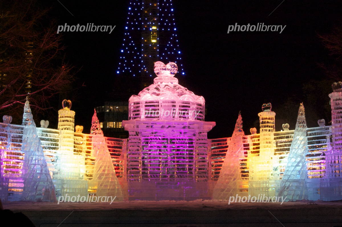 65th Sapporo Snow Festival ice sculpture Photo