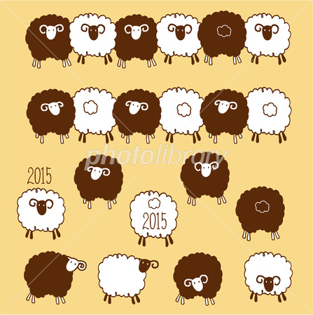 可愛い羊 イラスト素材 2973301 フォトライブラリー Photolibrary