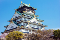 Spring of Osaka Castle Stock photo [2967175] Osaka