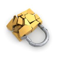 Broken padlock [2971402] Padlock