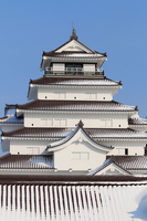 Winter of Tsuruga-jo Castle Stock photo [2973698] Tsuruga