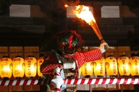 Red Demon of Nuoism Board of Kofukuji (demon chasing type) Stock photo [2974116] Nara,