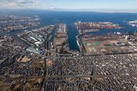 Aerial the Keiyo industrial area Stock photo [2974242] Aerial
