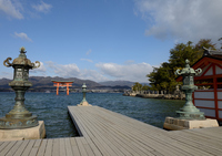 Of Itsukushima shrine torii Stock photo [2974290] Itsukushima