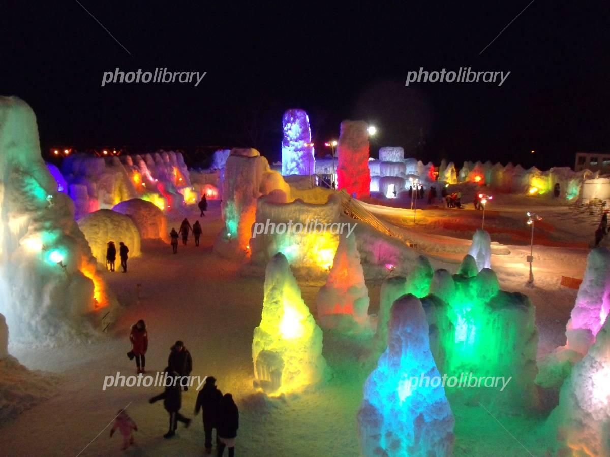 Ice festival-ice Tao Festival Photo