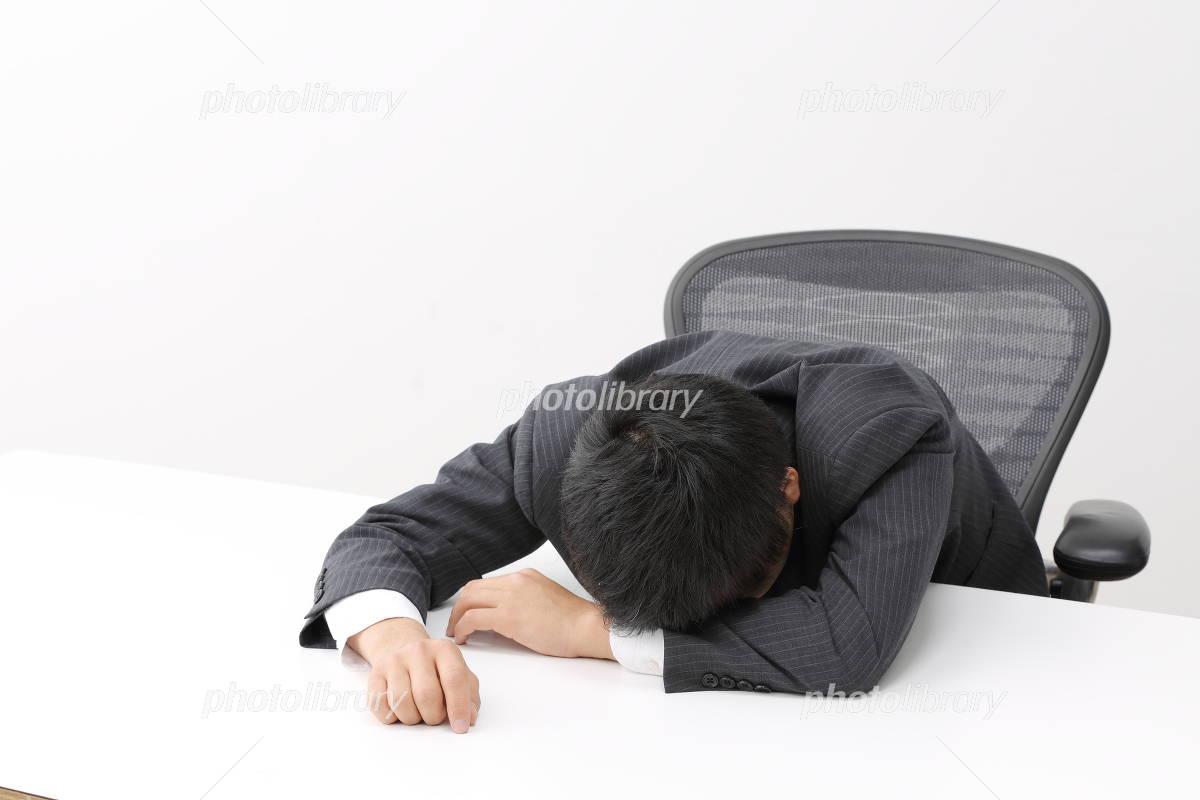Fatigue male Photo