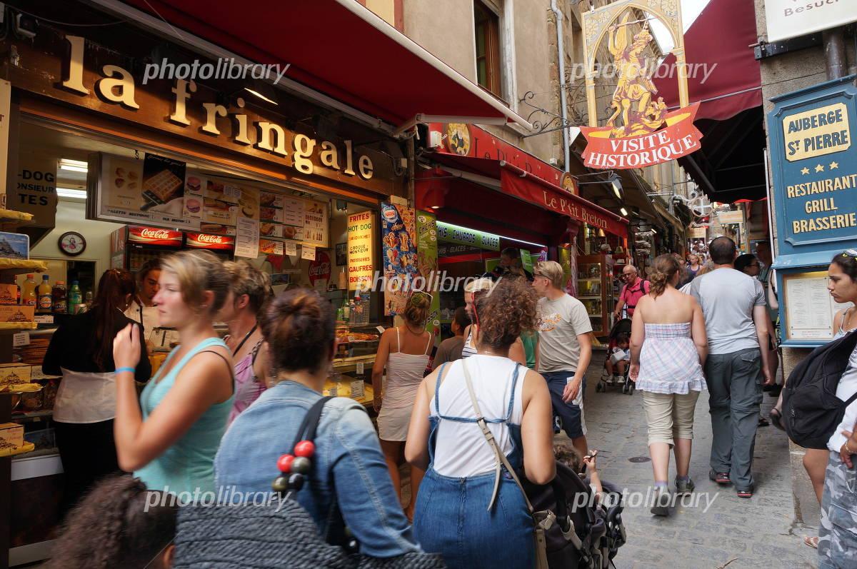 Mont Saint Michel Boulevard Photo