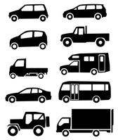 Car silhouette (black) [3052732] Car