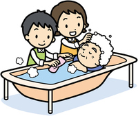 Visit bathing Visit