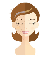 Woman skin problems [3061496] Face