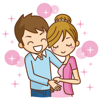 Pregnant couple family [3063866] Pregnant
