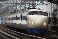0 Series Shinkansen last day Stock photo [3137818] Bullet