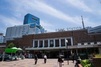 JR Kobe Station and HDC 揃 Kobe Crystal Tower Stock photo [3140630] Kobe