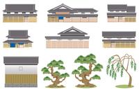 Japanese house material [3143729] Edo