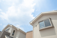 New homes and blue sky Stock photo [3145330] House