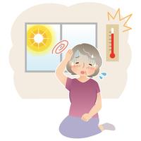 Heatstroke elderly [3145790] Heat