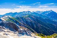 Northern Alps table Ginza ridge line Stock photo [3244785] Natural