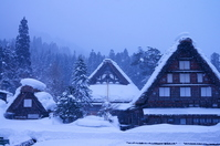 Gassho village Stock photo [3244826] Winter