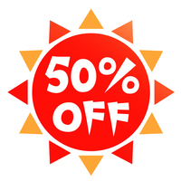 50% off [3249298] Fifty
