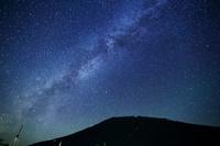 Ontakesan and starry sky Stock photo [3250153] Star