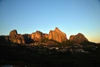 メテオラの岩山