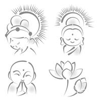 Kannon Buddha Jizo [3254925] Goddess